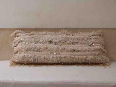 35x17 Moroccan wedding lumbar pillow handira by MoroccanInteriors