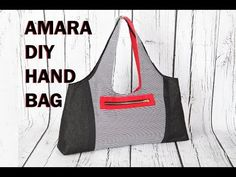 Amara diy hangbag / how to make a beautiful bag / sewing tutorial - Amara, Beautiful, hangbag, Sewing, Tutorial