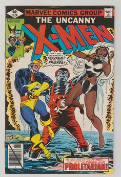 Uncanny X-Men Vol 1 124 Bronze Age Comic by RubbersuitStudios #xmen #comicsforsale