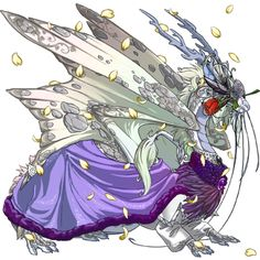 Imperial male. Primary - Ice Basic, Secondary - White Shimmer, Tertiary - Silver Gembond (Lightning)