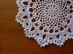 Easy Crochet Doily for Beginners   Very pretty and so easy to make: free pattern link