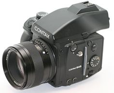 Contax 645 - Medium Format Film Camera. This is my go to camera and lens!