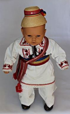 Traditional costume for baby Baby Costumes, Harajuku, Folk, Traditional, Popular, Handmade, Accessories, Style, Fashion