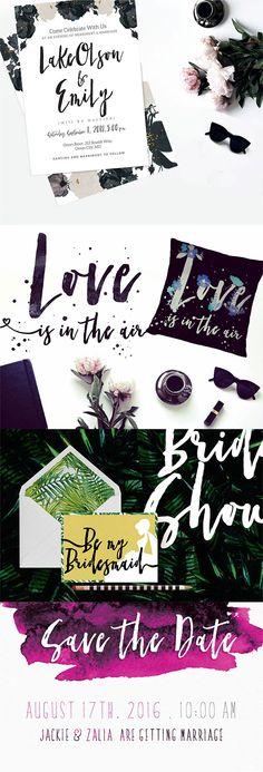 Modern Wedding Design Inspiration made with Skylar Font on my @Behance portfolio:      http://be.net/gallery/36379103/Wedding-Design-Inspiration-made-with-Skylar-Font   #brushlettering #brushfont #wedding #blogdesign #invitation #femininebranding #blogger #brushlogo
