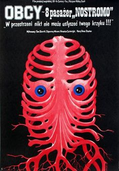 These are three of the original Polish posters for ALIEN and ALIENS. I believe all three were designed by legendary Polish poster designer Witold Dybowski. Horror Movie Posters, Alien Movie Poster, Polish Movie Posters, Polish Films, Aliens Movie, Best Movie Posters, Horror Films, Theatre Posters, Alien 1979