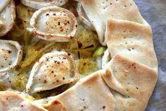 Tarte aux légumes, gingembre et fromage de chèvre