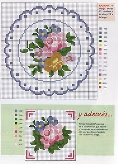 miniature needlework charts