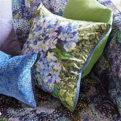Designers Guild Nilamana Cobalt Cushion