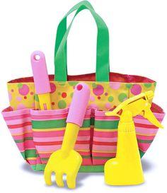 Melissa and Doug Kids Toy, Blossom Bright Tote Set