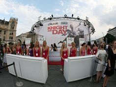 """The movie premiere of Tom Cruise and Cameron Diaz's movie """"Knight and Day""""and VEEN in Munich"""