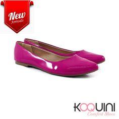 Básica, colorida e mega confortável #koquini #comfortshoes #euquero Compre Online: http://koqu.in/2d47rTh
