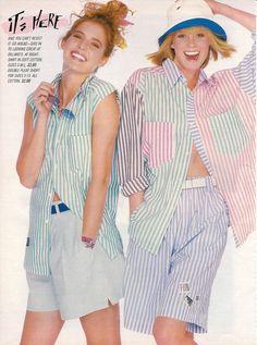 March 1987 Seventeen Magazine /// Evolving Fashion 17 Seventeen Magazine Teens