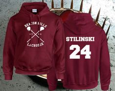 Stiles Stilinski 24, McCall 11, Lahey 14, Dunbar 09 Teen Wolf Custom Crewneck Hoodie Sweatshirt for Unisex adult made by USA
