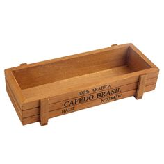 Retro Wooden Multifunctional Storage Desk Box For Flowers Plants Desk Organizer Home decoration