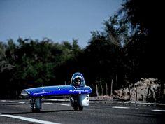 Futuristic race cars in Chile desert challenge