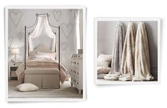 Girls Iron Canopy Bed Rooms | Restoration Hardware Baby & Child