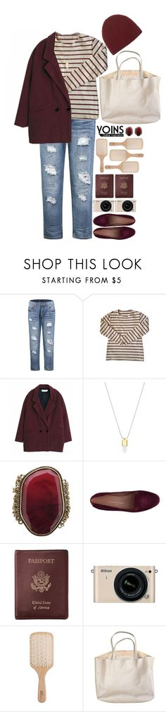 """""""Untitled #582"""" by yasmin-louise ❤ liked on Polyvore featuring American Apparel, Etienne Aigner, Royce Leather, Nikon, Philip Kingsley and Denis Colomb"""