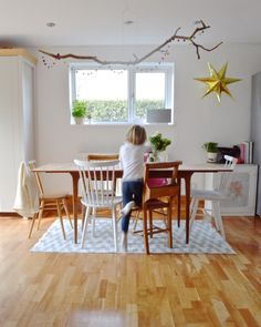 A 1950s UK Home Mixes The Old and The New | on Design*Sponge