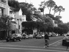 Calles de Sausalito, California