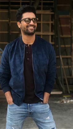 Help me look for a similar blue suede jacket like Vicky a Kaushal wore for the promotions of Uri Blue Suede Jacket, Indian Male Model, Portrait Photography Men, Indian Men Fashion, Man Crush Everyday, Actors Images, Poses For Men, Star Cast, Bollywood Stars
