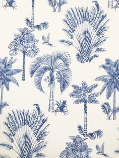 Anne Marie Jackson Textile and Surface Designer- Hand drawn Palm Toile Pattern for Tommy Bahama Textile Patterns, Print Patterns, Tommy Bahama, Gouache, Lightroom, Photoshop, Conversational Prints, Tropical Pattern, Pattern Illustration