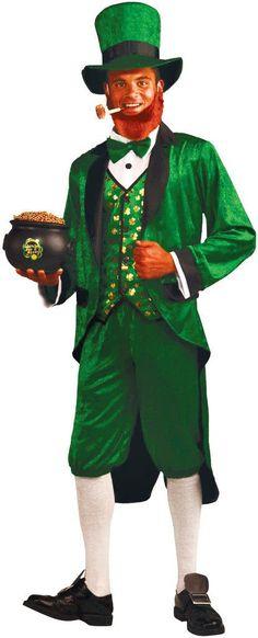 St. Patrick's Day Costume: Mr. Leprechaun