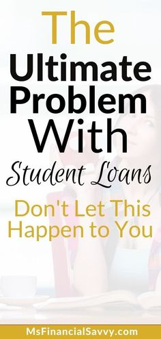 Do you know anyone who is going to college soon? Are you or anyone thinking about student loans? There are many problems with student loans, learn more...#problemwithstudentloans #studentloans #collegecost #collegeloans #colleges #debtfree #stayoutofdebt #debts #collegeexpenses #collegestudents #msfinancialsavvy