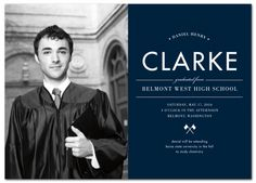 Elegant Flags Graduation Announcement from www.papersnaps.com    http://www.papersnaps.com/announcements/graduation-announcements/high-school-and-college-graduation-announcements/elegant-flags-graduation-announcement.html    #GraduationAnnouncements