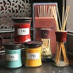 I love candles but I LOVE wood-wick candles. The sound of wood cracking and popping relaxes me!