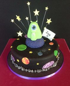 This Alien Cake Was Fun To Make