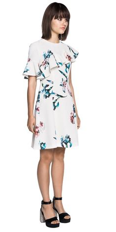 Womens Fashion Online, Latest Fashion For Women, Ruffle Dress, Orchid, Watercolour, Must Haves, Peplum, Cold Shoulder Dress, Skirts