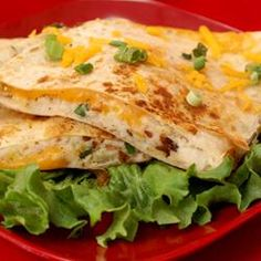 Mashed Potato Quesadillas..tastes like fried pierogies -wondering what to do with all those leftover mash...
