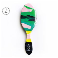 Gift for Girls and Boys. Personalised Hair Brush by GiantSparrows