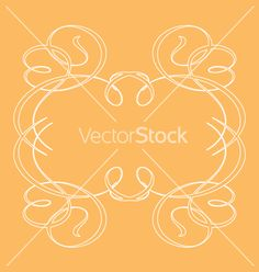 Free Vector | Ornamental frames vector 841 - by Robot on VectorStock®