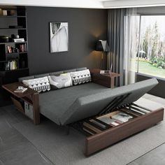 The best sleeper sofa & sofa transitional beds – Home Decor Sofa Cumbed Design, Interior Design, Interior Ideas, Sofa Bed For Small Spaces, Small Room Bedroom, Spare Room, Best Sleeper Sofa, Living Room Decor Furniture, Atelier