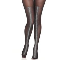 Hue Gravel Tights (20 BRL) ❤ liked on Polyvore featuring intimates, hosiery, tights, gold, gold stockings, gold sparkle tights, hue pantyhose, gold tights and hue hosiery