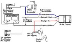 trailer wiring on electric trailer brake controller wiring r mork rh pinterest com Tamagawa Resolver Wiring-Diagram Sterling SPP Fire Pumps Wiring Diagrams