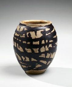 SHIGURO MUNEMARO (1893-1968), ca. 1960 Glazed stoneware 7 x 6 in.