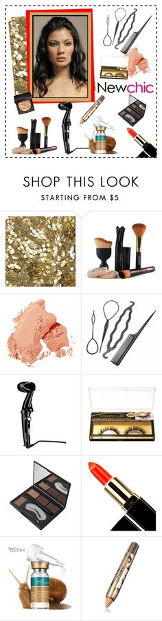 """""""NEWCHIC 104. (Beauty 5.)"""" by carola-corana ❤ liked on Polyvore featuring beauty, Burberry, Bobbi Brown Cosmetics and Laura Mercier"""