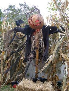 Halloween scarecrow Haunt Forum member Uruk-Hai