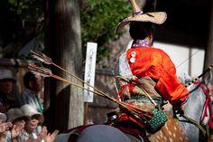 Yabusame à Kamakura, Japan