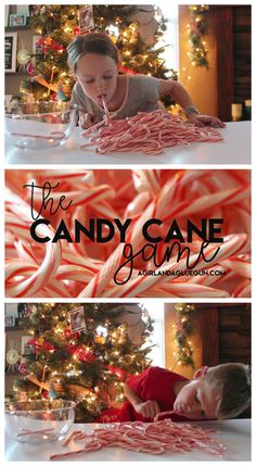 the-candy-cane-game super easy quick game to play this Christmas games The Candy Came game! - A girl and a glue gun Xmas Party Games, Fun Christmas Party Ideas, Christmas Pajama Party, Party Games Group, Fun Christmas Party Games, Christmas Games For Family, Holiday Games, Candy Party Games, Minute To Win It Games Christmas