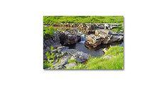 Premium Textil-Leinwand 90 x 60 cm Quer-Format Glen Etive in Schottland Glen Etive, Scotland, Printing, Canvas