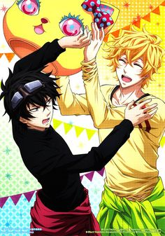 Karneval ~~ Bad Yogi! Stop messing with Gareki that way! He looks awful in yellow...