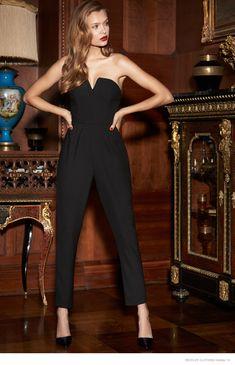Josephine Skriver + Shanina Shaik Get Glam in REVOLVE Clothings Holiday Catalogue