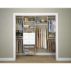 27 Ideas easy closet organization diy drawers for 2019 Best Closet Systems, Diy Closet System, No Closet Solutions, Closet Renovation, Closet Remodel, Bedroom Closet Design, Closet Designs, Small Closet Organization, Cheap Closet Organizers
