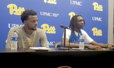 Watch: Pitt's Femi Odukale, Mo Gueye on Blue-Gold Scrimmage - Pittsburgh Sports Now