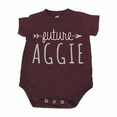 Future Aggie Arrow Onesie