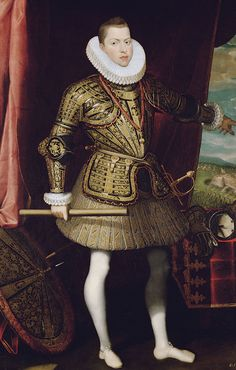 Felipe III, Juan Pantoja de la Cruz, 1601-2