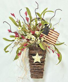 Crooked Tree Creations | Patriotic Floral Decor, Wreaths, Arrangements